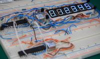 6 Digit 7-Segment Display SPI Prototype Board