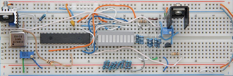 9 Volt Battery Charger Development Board