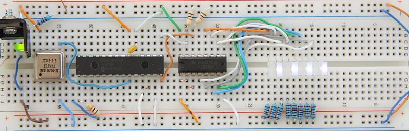 PCF8574 I2C 8-bit IO expander Prototype Board