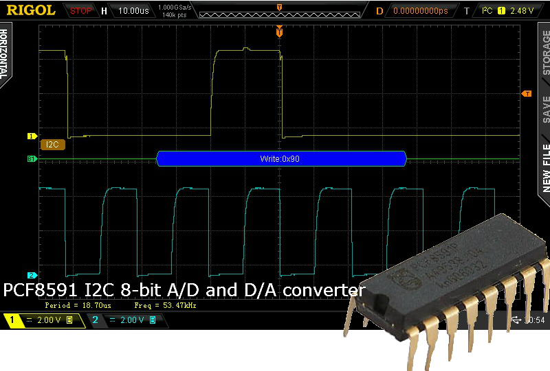 PCF8591 I2C 8-bit ADC and DAC Featured Image