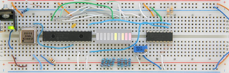 PCF8591 I2C 8-bit ADC and DAC Prototype Board
