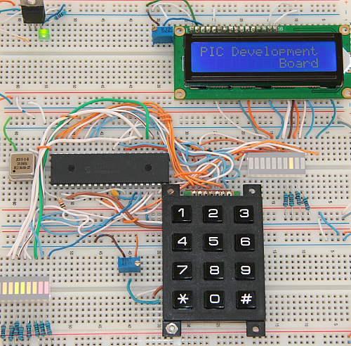 PIC Development Board Prototype Board
