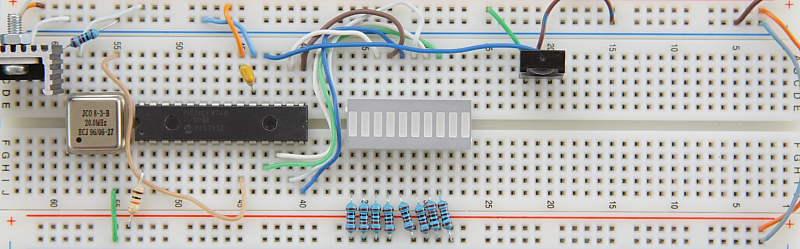 Wireless UART Receiver Prototype Board