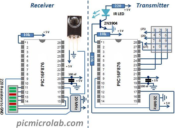 Wireless UART Schematic