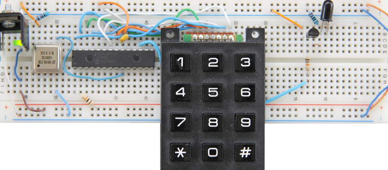 Wireless UART Transmitter Prototype Board