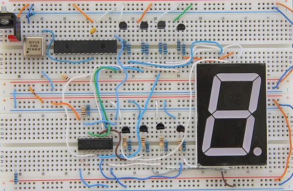 7-Segment LED Display I2C Prototype Board