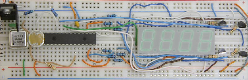PIC Fan Speed Monitor Prototype Board