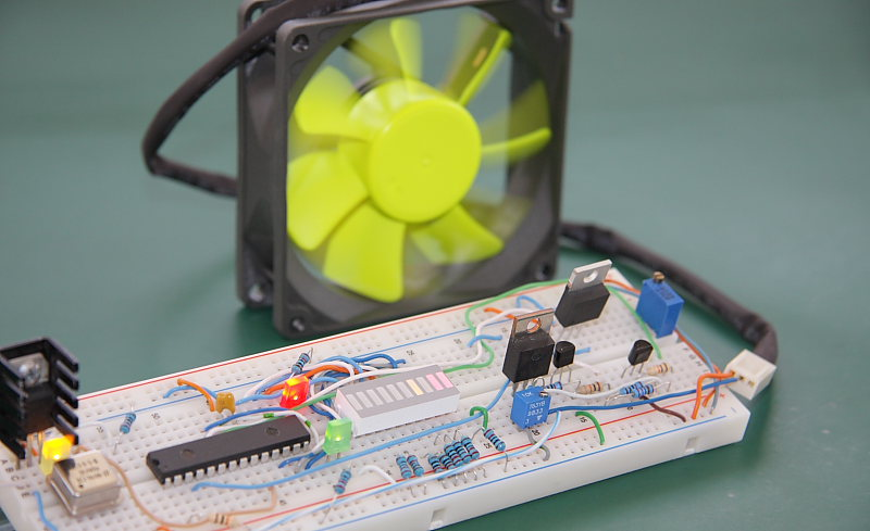 temperature controlled fan using 8051 pdf