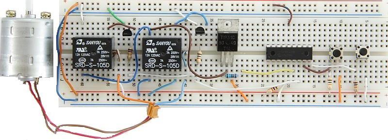 DC Motor Controller Prototype Board