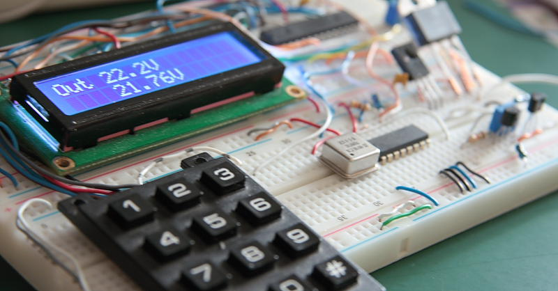 Digitally Controlled Power Supply 0-25 V Part 2 Featured Image