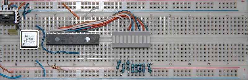 PIC C Programming Prototype Board