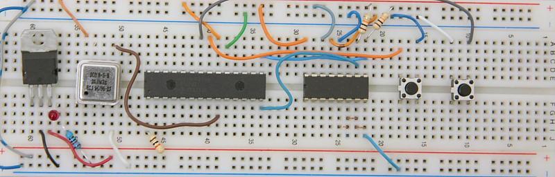 PIC Waveform Recorder Prototype Board