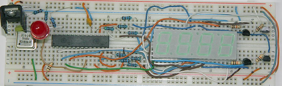 Response Time Meter Prototype Board