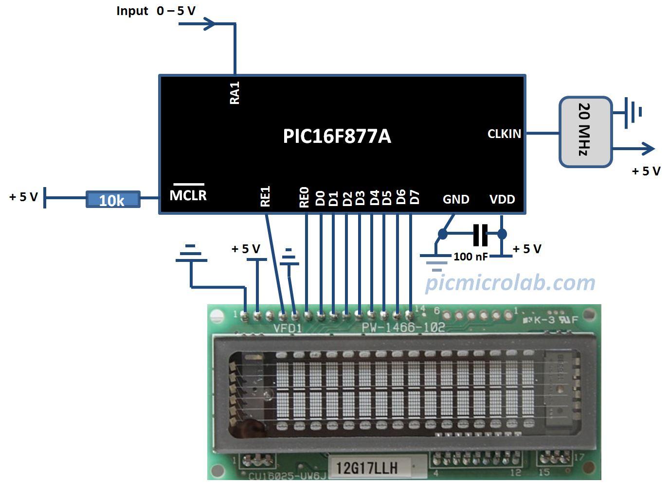Bargraph-Voltmeter-Schematic