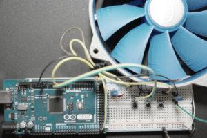 Arduino PWM Fan Controller Prototype Board