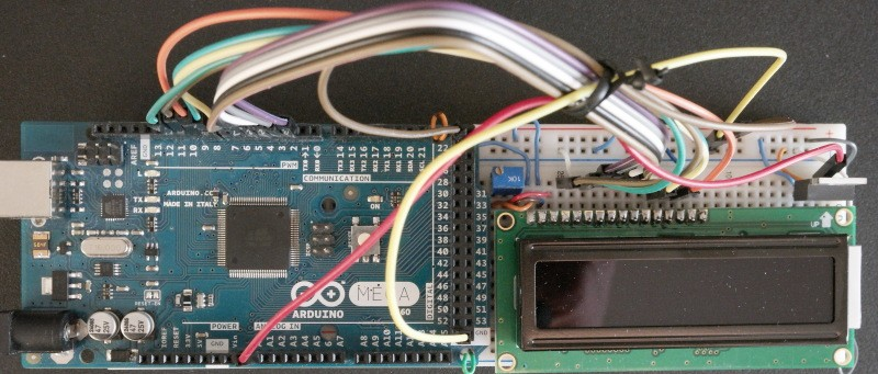 Arduino-Thermometer-LM35-Prototype-Board