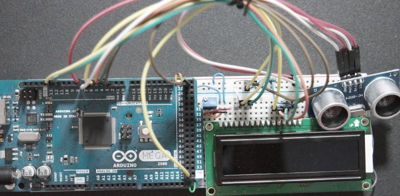 Arduino-Ultrasonic-Sensor-HC-SR04-Prototype-Board