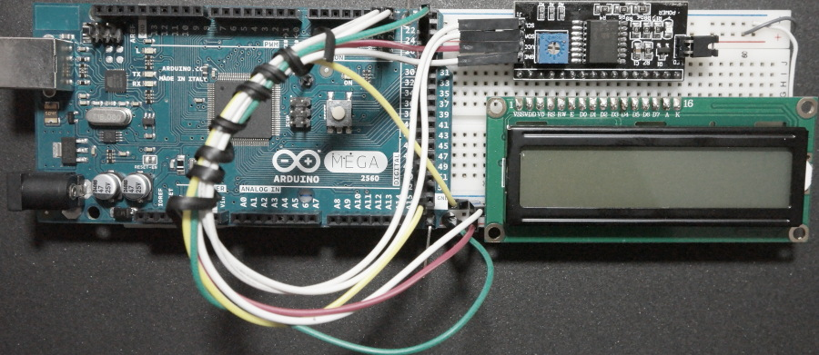 I2C-Serial-LCD-Interface-Module-Arduino-Prototype-Board