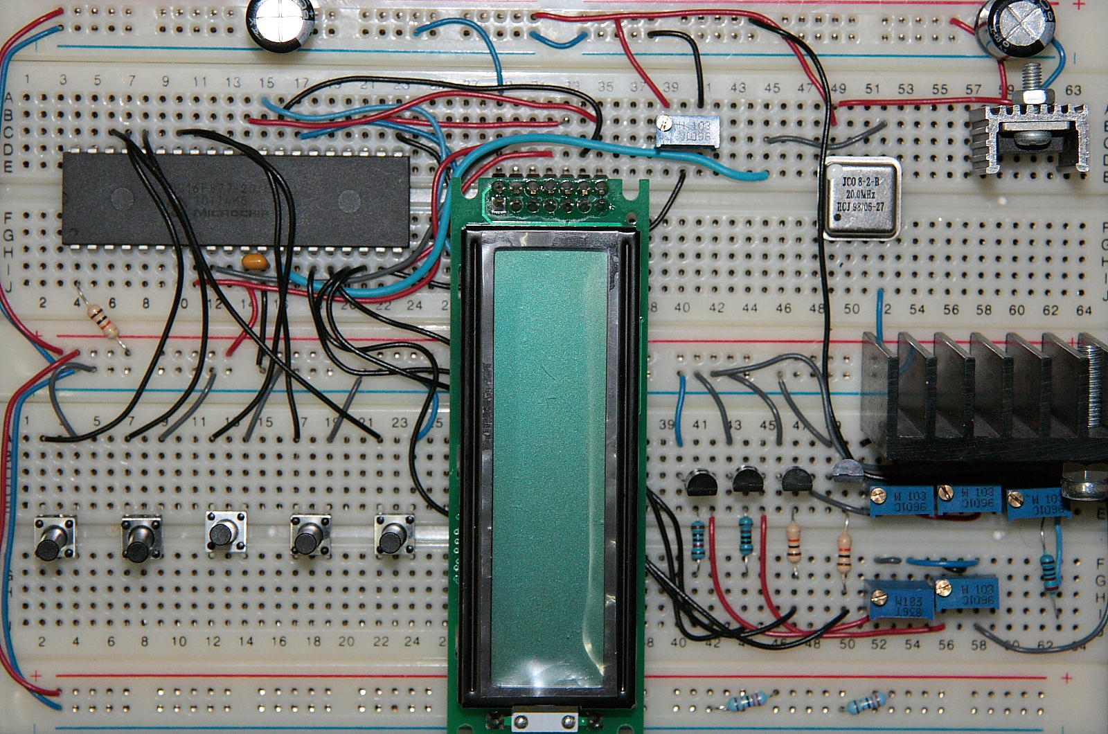 Fantastic Led Controller Picmicrolab Basic Electronics Wiring Diagram Wiring Digital Resources Remcakbiperorg