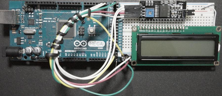 I2C Serial LCD Interface Module Arduino